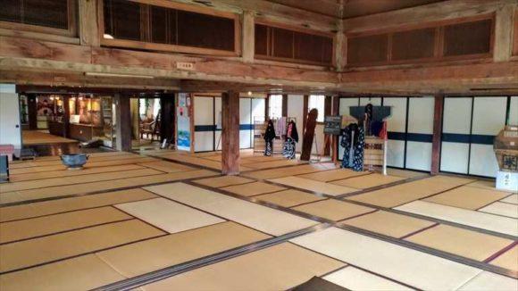 小樽鰊御殿2階大広間