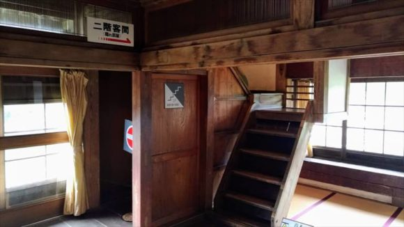 小樽鰊御殿の階段
