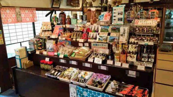 小樽鰊御殿のお土産