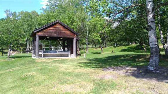 ひがしかぐら森林公園キャンプ場フリーサイト
