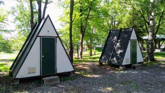 ひがしかぐら森林公園キャンプ場バンガロー