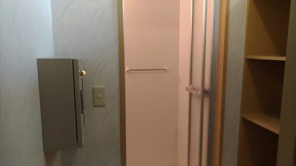 オートキャンプ場フローレのシャワー