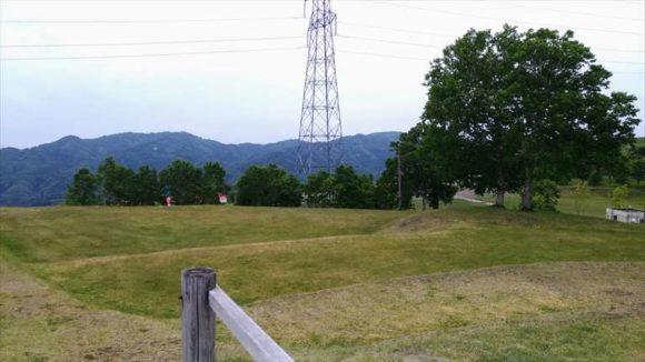 きじひき高原キャンプ場丘の上フリーサイト
