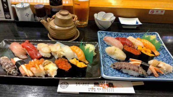 小樽魚真の握り