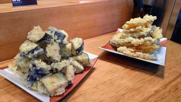 札幌ビューホテルランチブッフェの天ぷら