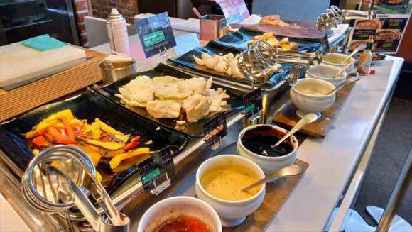 札幌ビューホテルランチブッフェのステーキ
