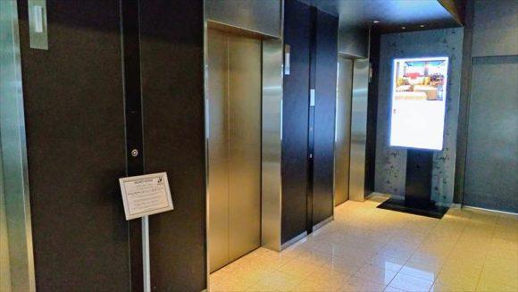 クロスホテル札幌のエレベーター