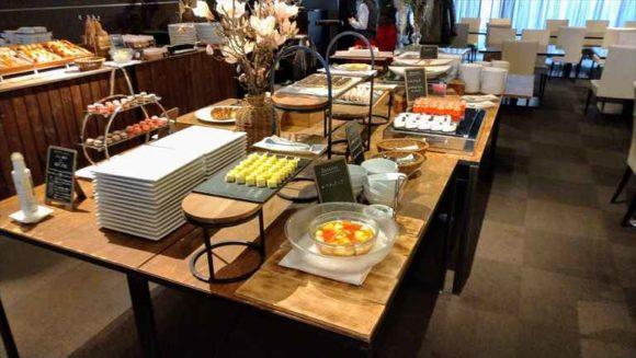 クロスホテル札幌ランチブッフェのスイーツ