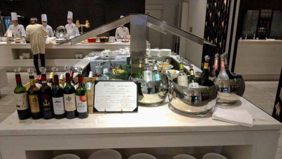 ANAクラウンプラザホテルMEMのワインブッフェ