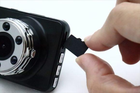 ドライブレコーダーのSDカード