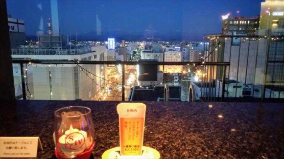 プレミアホテル-CABIN-旭川の夜景が見えるバー