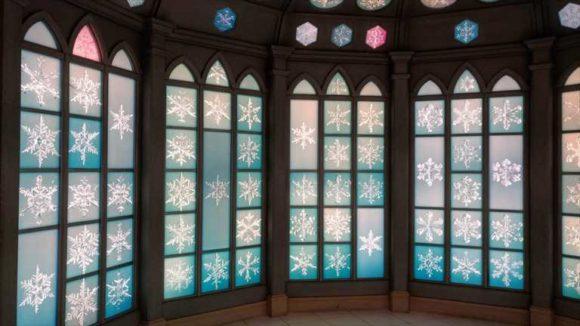 雪の美術館の「スノークリスタルミュージアム」
