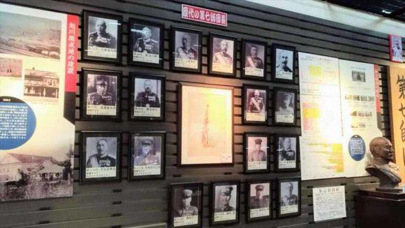 北鎮記念館2階の展示