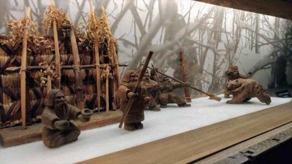旭川市博物館の展示