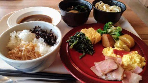 JRイン旭川の朝食ブッフェバイキング