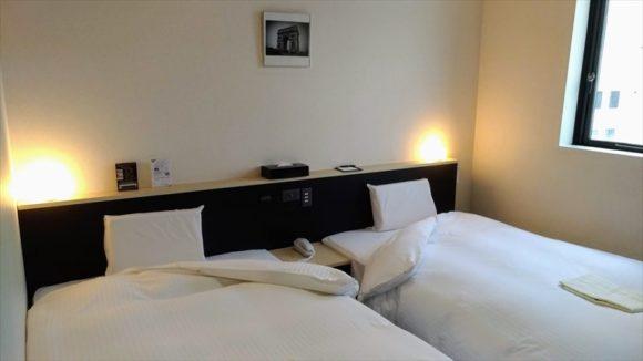 Rホテルズイン北海道旭川の客室(ツインルーム)