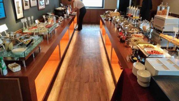 Rホテルズイン北海道旭川の朝食ブッフェバイキング