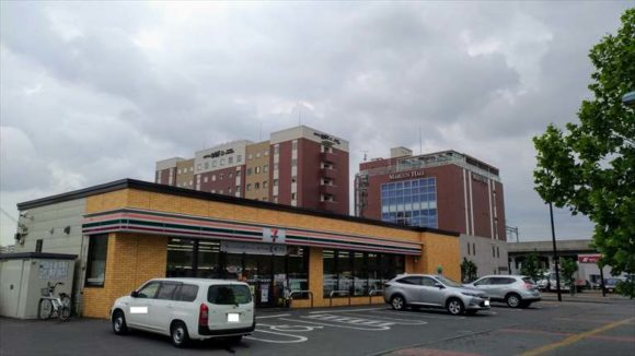 ホテルWBFグランデ旭川最寄りのセブンイレブン