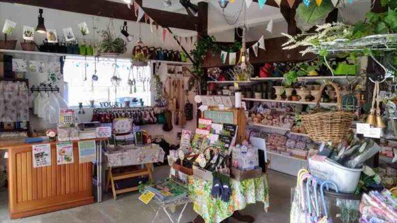 上野ファームガーデンショップ「丘のふもとの小さな苗屋」