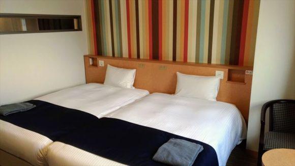 ホテルWBFグランデ旭川の客室(ツインルーム)