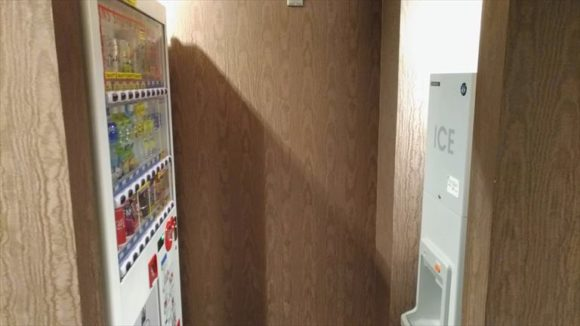 ホテルWBFグランデ旭川の自動販売機