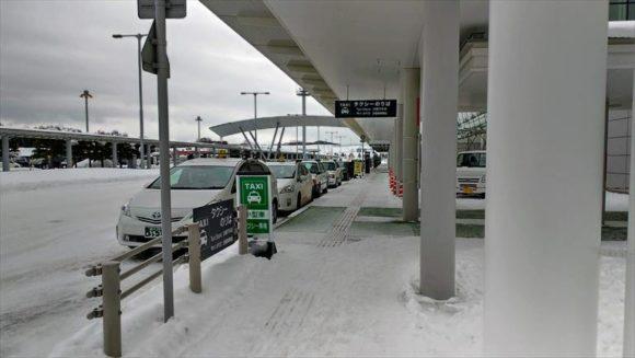 旭川空港タクシー乗り場