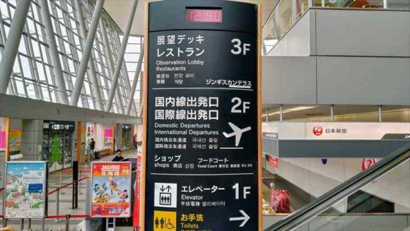 旭川空港館内MAP