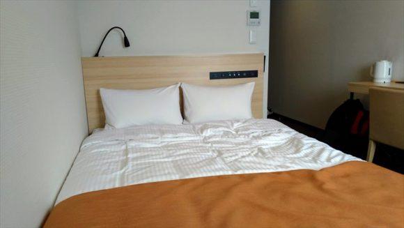 ワイズホテル(Y's HOTEL)旭川駅前の客室(セミダブル)