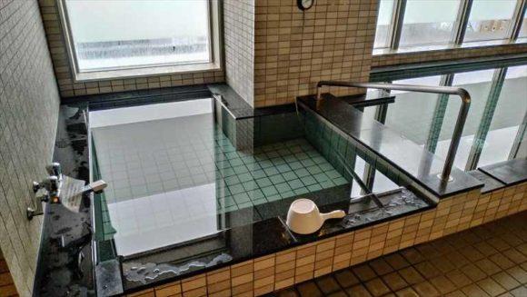 ワイズホテル旭川駅前の水風呂