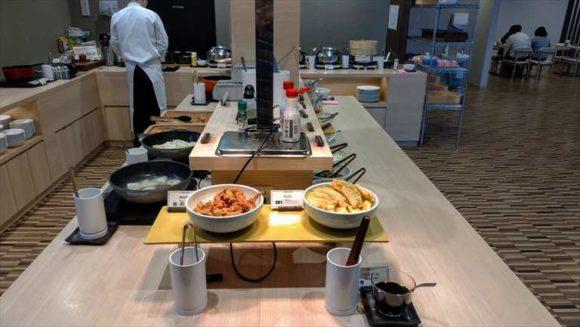 ワイズホテル(Y's HOTEL)旭川駅前の朝食ブッフェバイキング