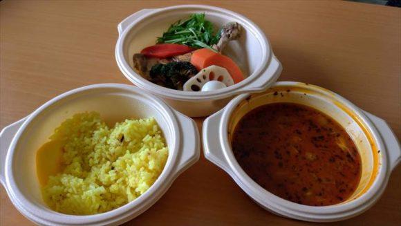 GARAKUのスープカレーをデリバリーで注文