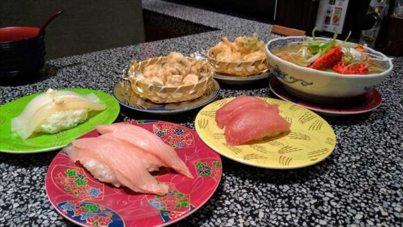 根室花まるのおすすめ汁物&お寿司