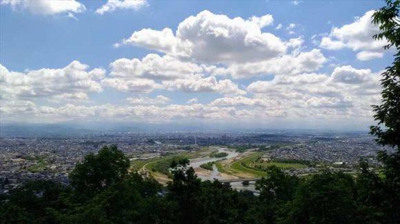 旭川観光スポットおすすめ⑭嵐山展望台