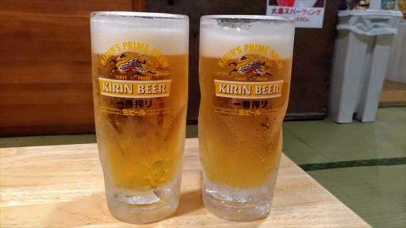 大黒屋のビール