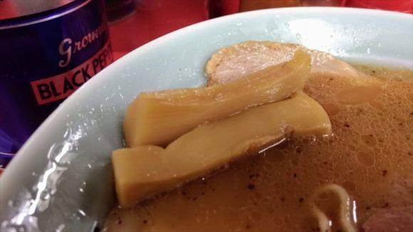 梅光軒本店の醤油ラーメン