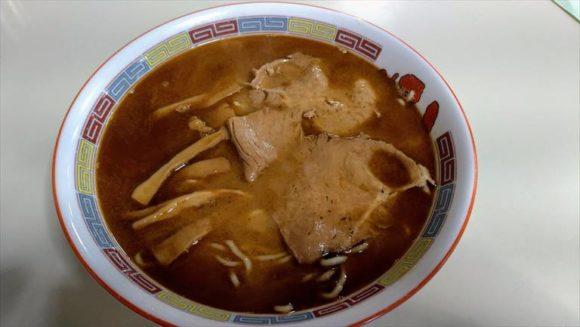 蜂屋(旭川ラーメン)おすすめしょうゆ(醤油)ラーメン