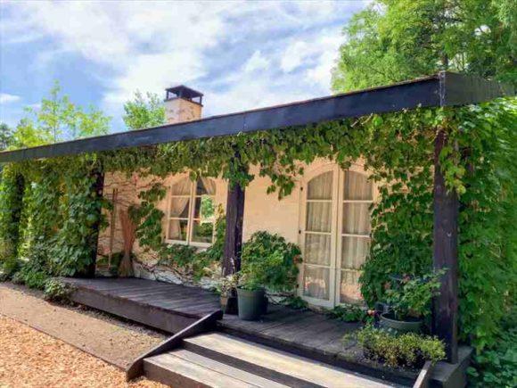 「風のガーデン」のグリーンハウス