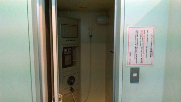 滝里湖オートキャンプ場(芦別)のシャワー・売店