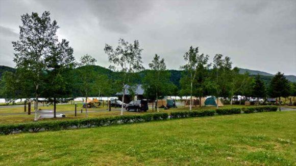 滝里湖オートキャンプ場