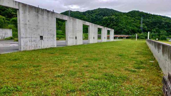 二輪車専用フリーサイト(滝里湖オートキャンプ場)