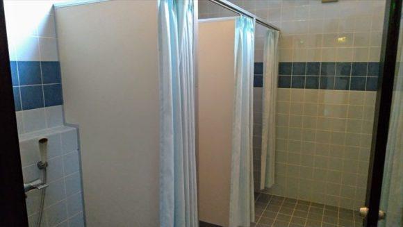 かなやまオートキャンプ場のシャワー