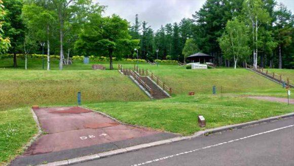 かなやま湖オートキャンプ場のスタンダートカーサイト