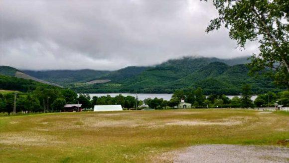 かなやま湖畔キャンプ場(南富良野)のゴーカートは封鎖中
