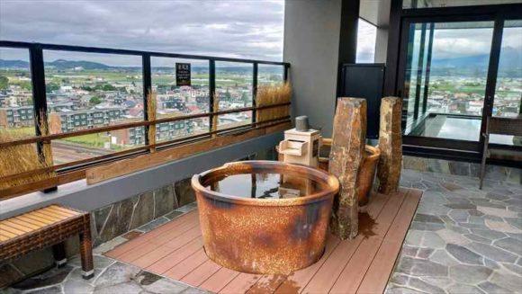 ラビスタ富良野ヒルズの大浴場