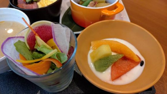 ラビスタ富良野ヒルズの朝食ブッフェ