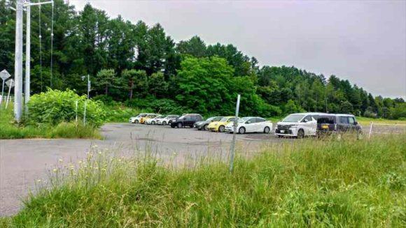 フラノデリスの駐車場