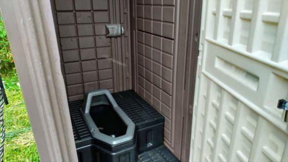 吹上温泉のトイレ