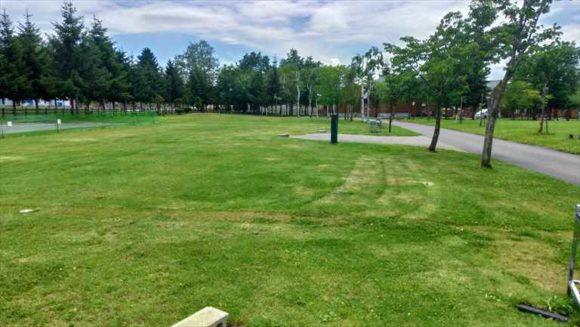 日の出公園オートキャンプ場(上富良野)キャンピングカーサイト