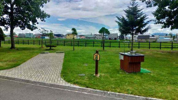 日の出公園オートキャンプ場(上富良野)個別サイト(オートキャンプ)