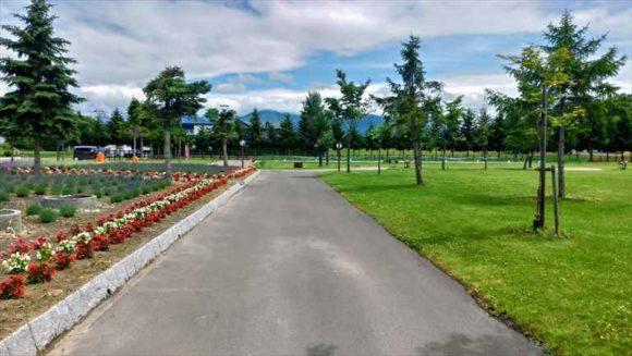 上富良野町日の出公園オートキャンプ